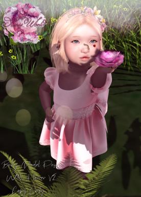FLOWER POSE V2 AD